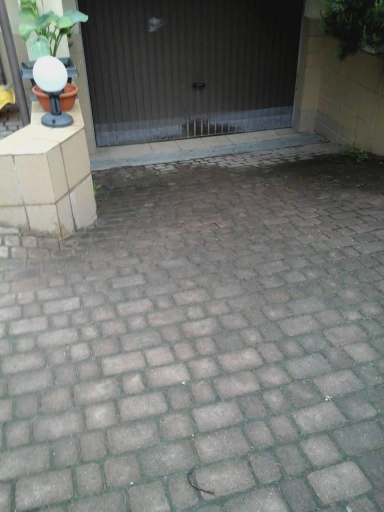 oględziny chodnika