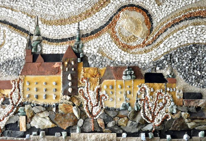 mozaika kraków wawel