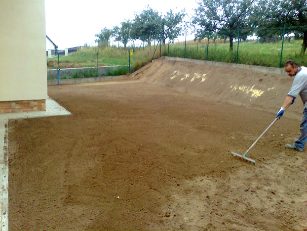 plantowanie ziemi przybyslawice