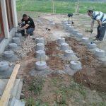 fundamenty tarasu drewnianego