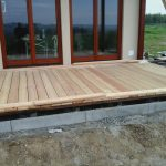 Olejowanie tarasu drewnianego
