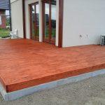 Taras drewniany po olejowaniu